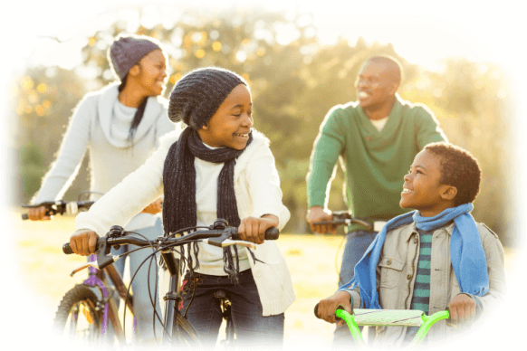 a family ob bycycle's a section image for Why Estate Planning is Important