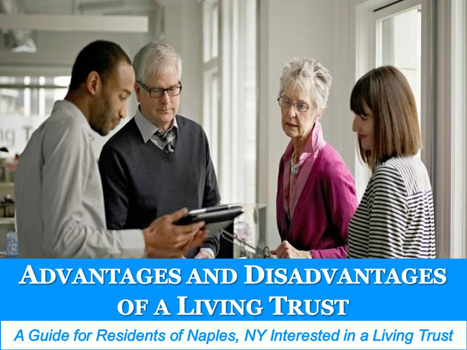 advantages and disadvantages of a living trust